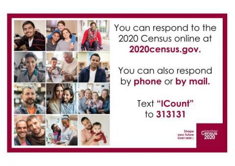 Burt County! Respond to the 2020 Census!