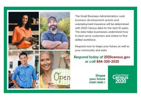 Burt County! 2020 Census and Small Businesses Matter!