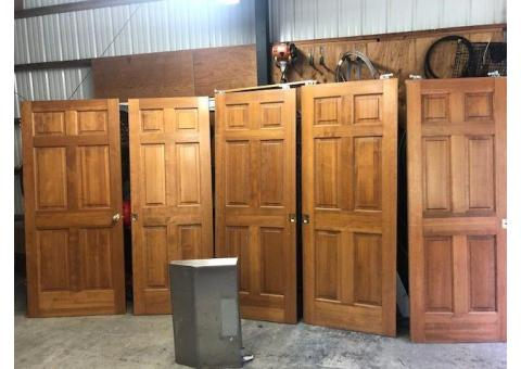 Six Panel Fur Doors- Excellent Condition